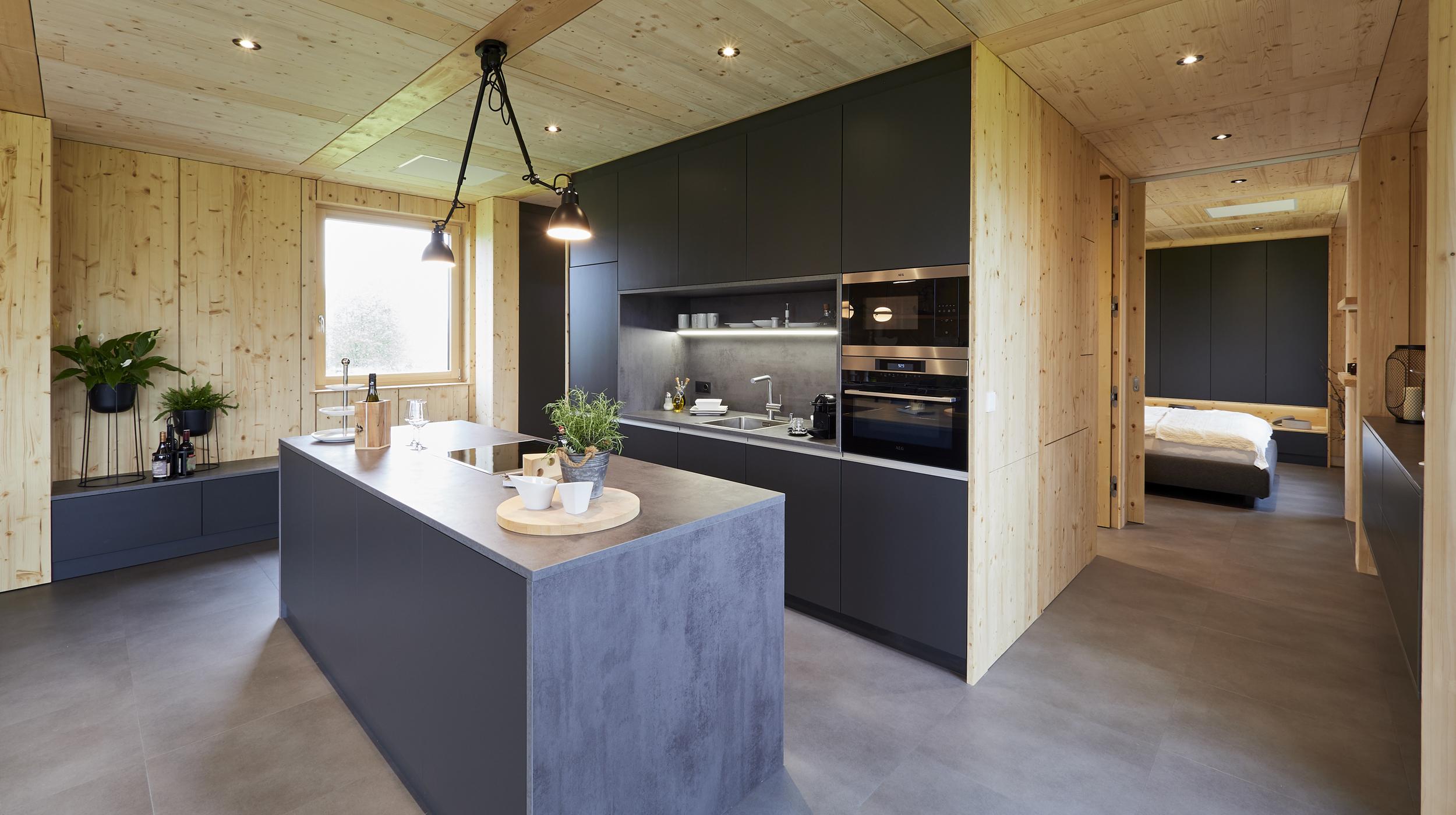 ZiKK 2.0 Musterhaus Vitis - Blick in die Wohnküche
